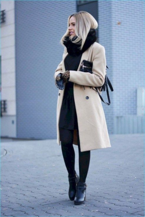 Affordable and Stunning Winter Outfits Ideas 19 | Stylish winter .