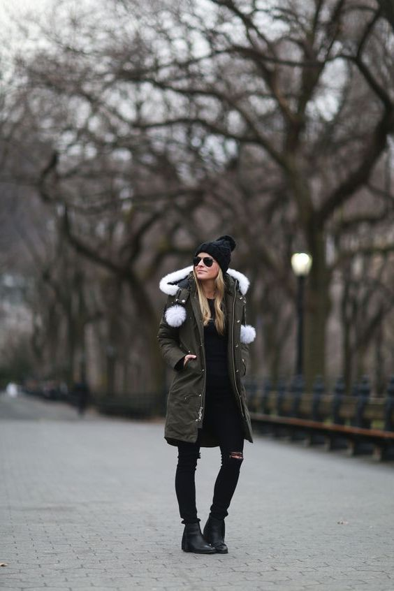 Parkas For Women: Best Outfit Ideas 2020 | Womens parka winter .