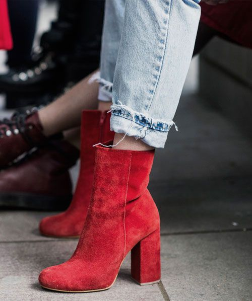 OOTD: How to Wear Red Boots According to Fashion Girls   Stunning .