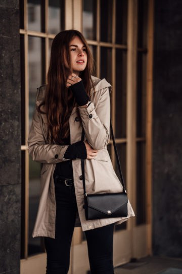 Wearing a trenchcoat in winter?    Fashionblog Berlin    Winter Outf