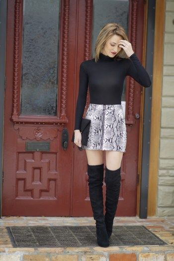 How To Wear Snake Print | Snake print dress outfit, Snake print .
