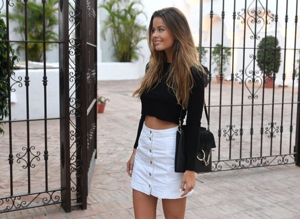 How to Style Button Down Skirt: 15 Chic Outfit Ideas for Women .