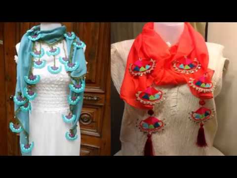 Trendy And Stylish Scarf Designs - scarf for girls in summer .