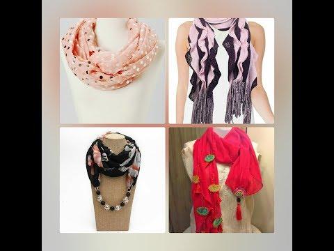 trendy scarfs design for girls    New Scarf Arrivals    stylish .