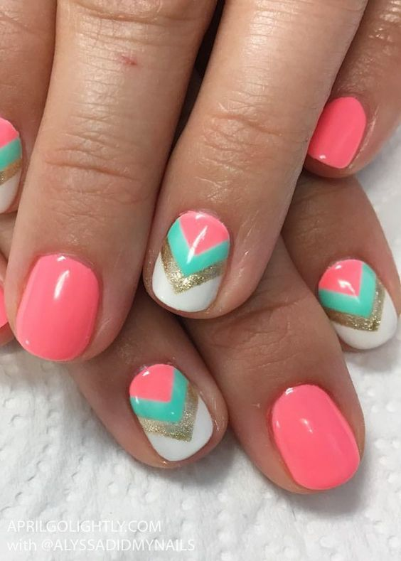 60+ Summer Nail Art 2020 Ideas to give you that invincible shine .