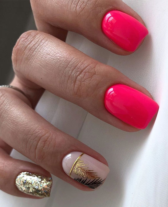 Cute Summer Nail Designs To Try Out This Summer 20