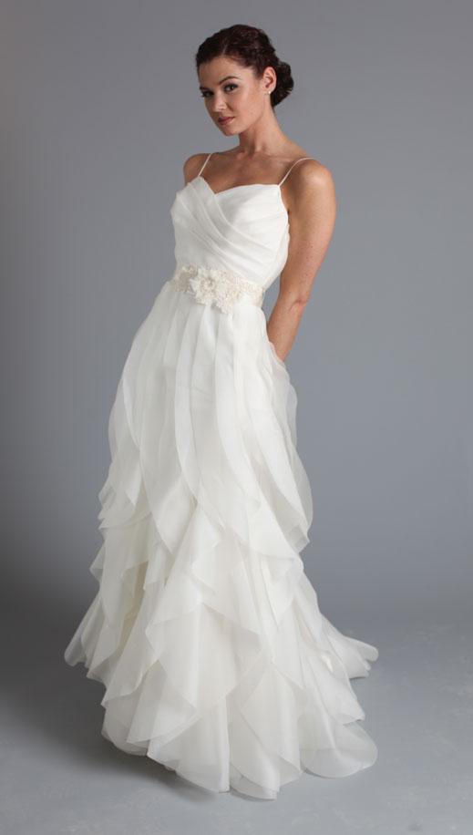 Bavarian Wedding: Summer White Wedding Dress