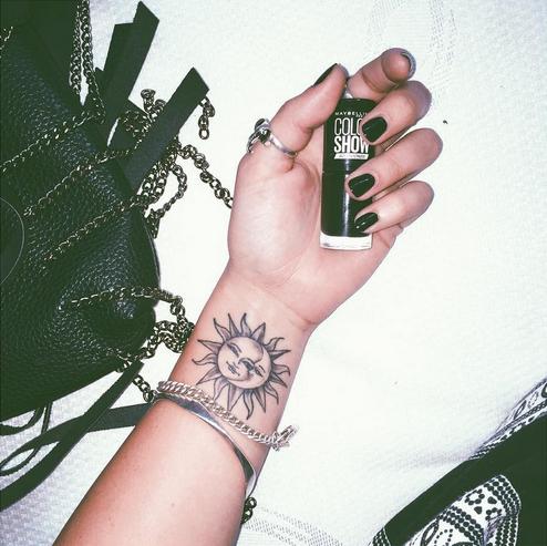 Yoojazzy … | Wrist tattoos for women, Tattoos, Sun tatto