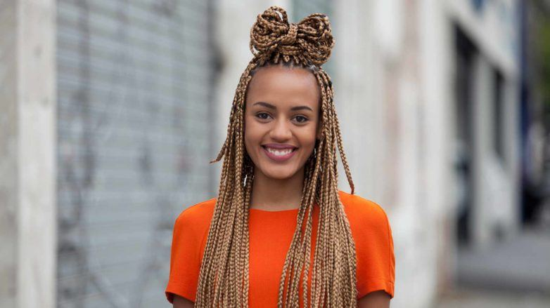 10 Super-Cute Styles with Box Braids to Wear N