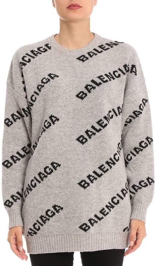 Sweater women Balenciaga | Sweater Balenciaga Women Grey .