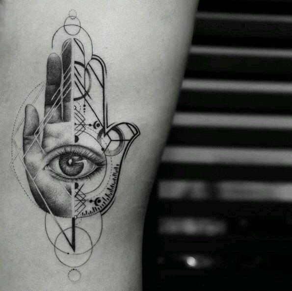 Symbolic Hamsa Tattoos