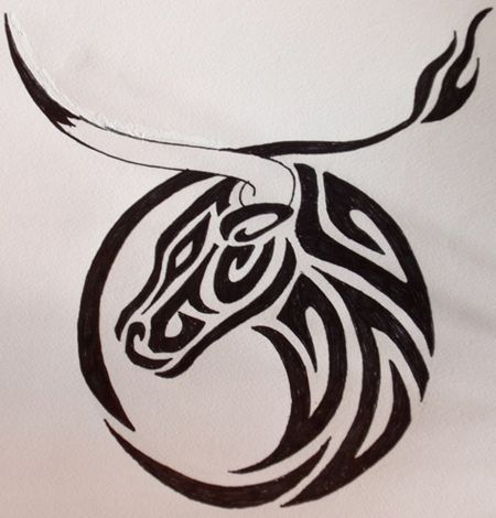 Best Taurus Tattoos - Our Top 10   Taurus tattoos, Bull tattoos .