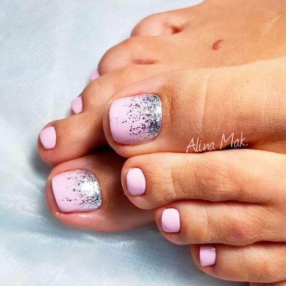 27 Adorable Easy Toe Nail Designs 2020 – Simple Toenail Art .