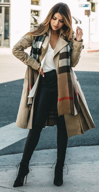 40 Trench Coat Outfits To Give You That Inspiration You Need .