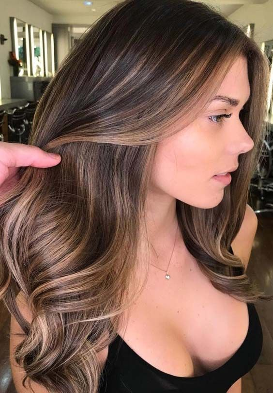 62 Brilliant Brunette Balayage Hair Color Trends for 2018 | Brown .