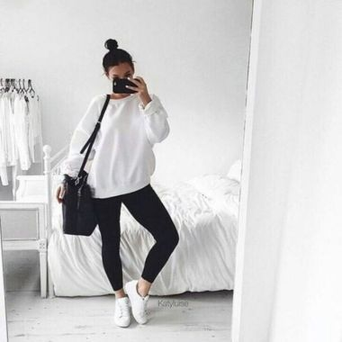 40 Winter Outfit Ideas Trending Right Now   Workout outfits winter .