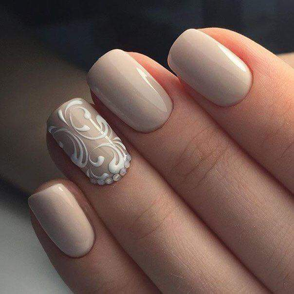 65 Trendsetting Nude Nails Perfect for All Skin Ton