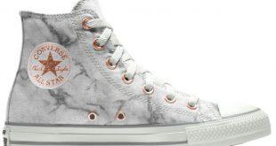 Converse Custom Chuck Taylor All Star Marble High Top Shoe ($80 .
