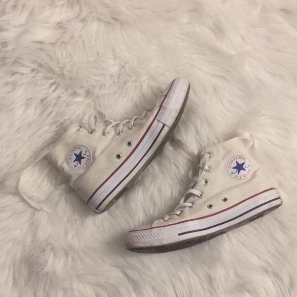 Converse Shoes | White Super Trendy | Poshma