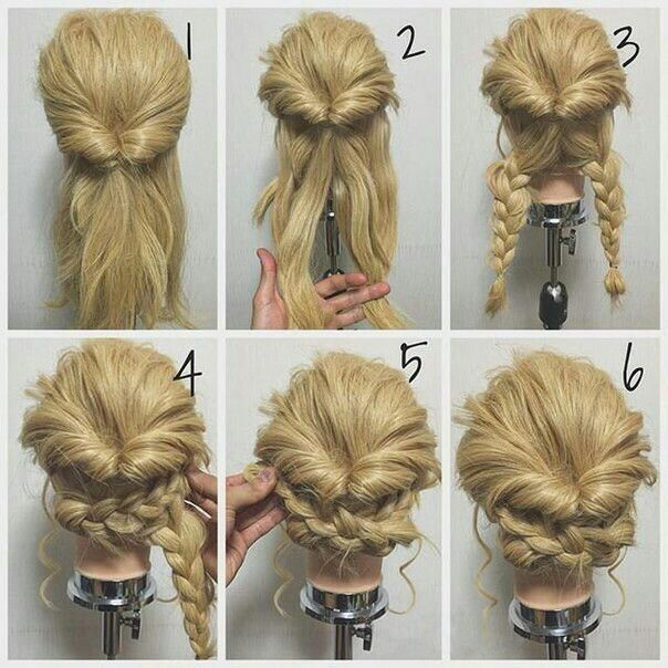 Easy but cool (Cool Easy Braids)   Hair styles, Long hair styles .