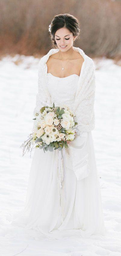 40+ Stylish Reasons to Have a Winter Wedding | Winter wedding .