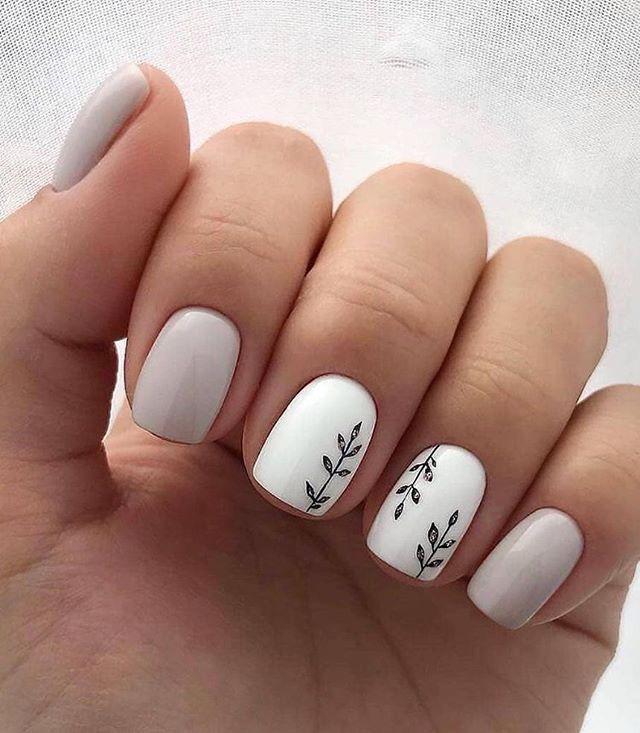 100 spring nail art ideas 2020, best spring nails 2020, flower .
