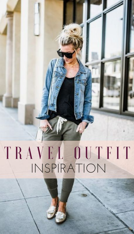 Travel Outfits: Traveling Outfit Ideas for Women   Comfy Travel .