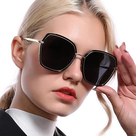 Amazon.com: REBSUN Oversized Polarized Sunglasses for Women .