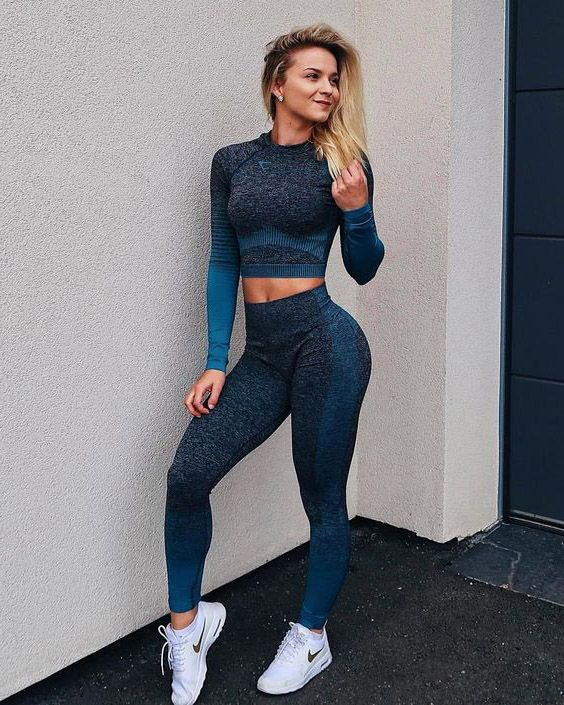 17 Workout Outfits I Swear By in 2020 | Gym clothes women, Trendy .