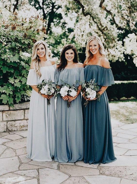 Unique Bridesmaid Dress Options   La Cosa Bella Events   Wedding .