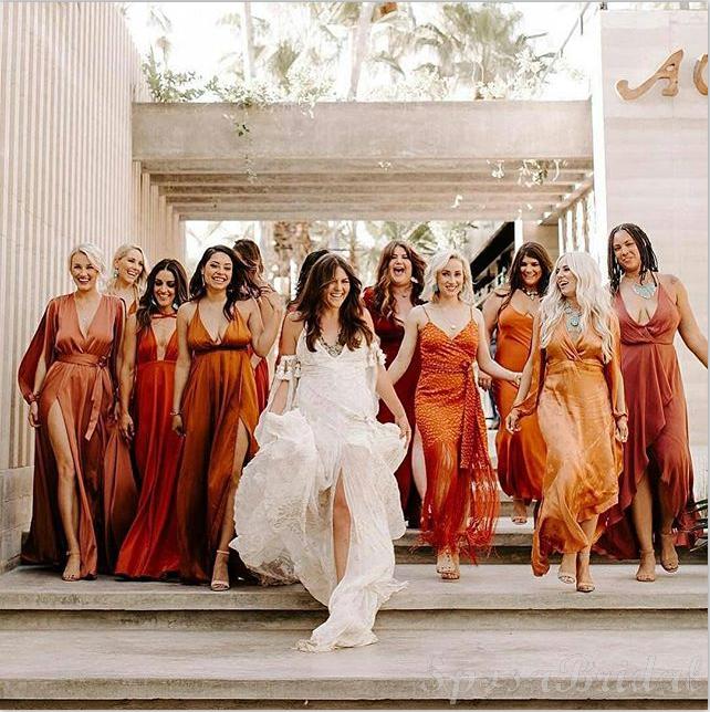 Mismatched Most Popular Newest Elegant Unique Bridesmaid Dresses .