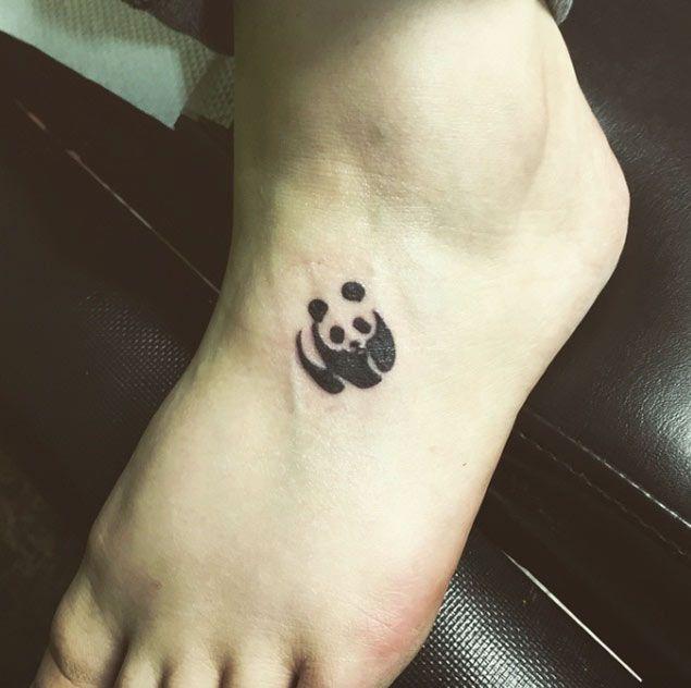 59 Amazing Panda Bear Tattoo Ideas For Girls | Panda tattoo, Panda .