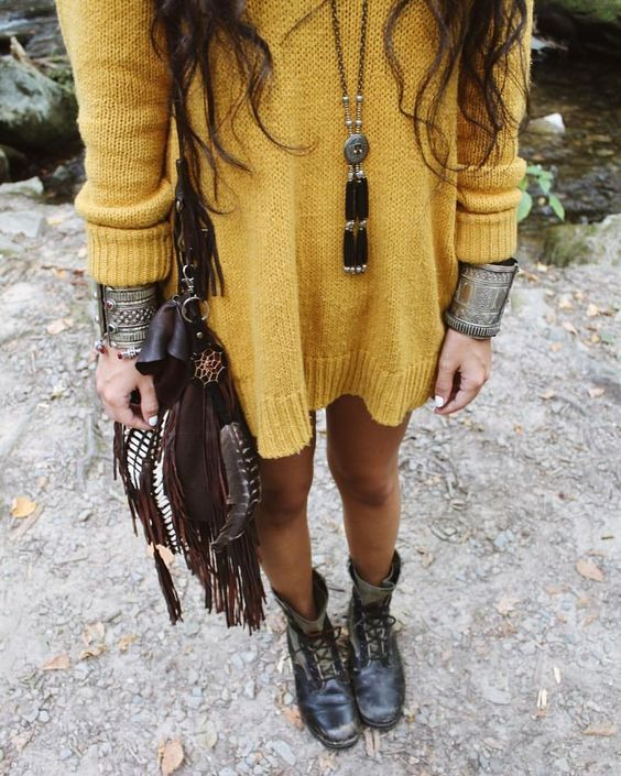 40 Unique Winter Boho Outfit Styling Ideas to Flaunt Bohemian .