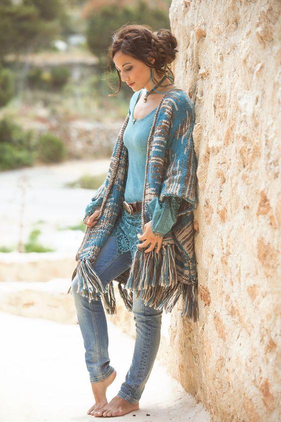 Inspiring Boho Dress Ideas to Try this Winter #bohemianfashion .