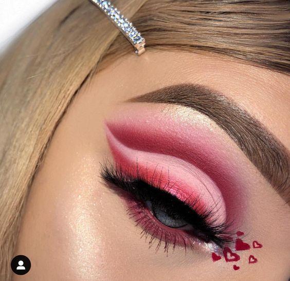 25+ Valentine's Day Makeup Look Ideas - BeautyBrainsBlush .