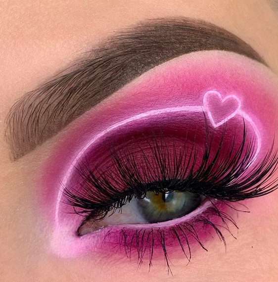 Makeup Ideas ~ Valentines day edition on We Heart