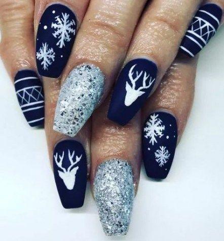 New Nails Acrylic Stiletto Mood Ideas #nails | Uñas de gel .