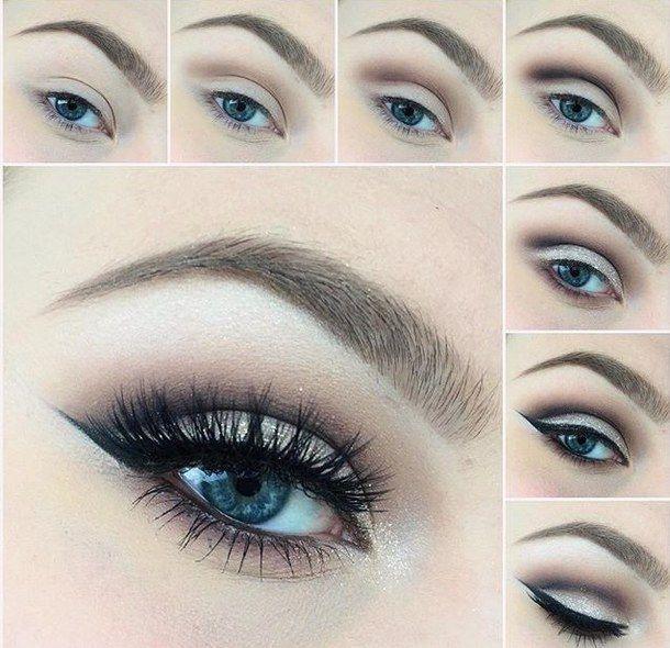 How To Apply Eye Makeup For Blue Green Eyes - Makeup Vidalondon .