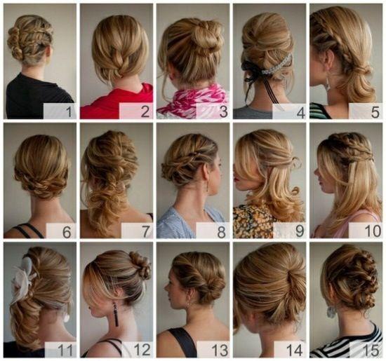 Fancy ways to style your hair | Hår og skønhed, Bryllupshår, Frisu