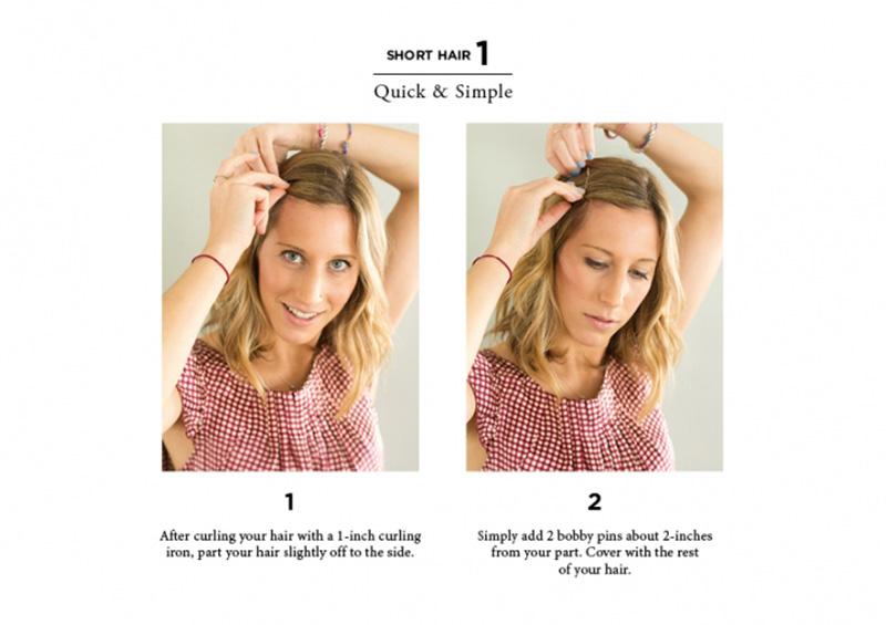 10 Easy Ways to Style Hair - The Everygi