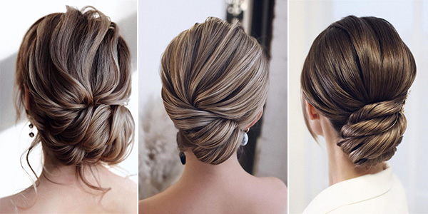30 Classic Updo Wedding Hairstyles for Elegant Brides .