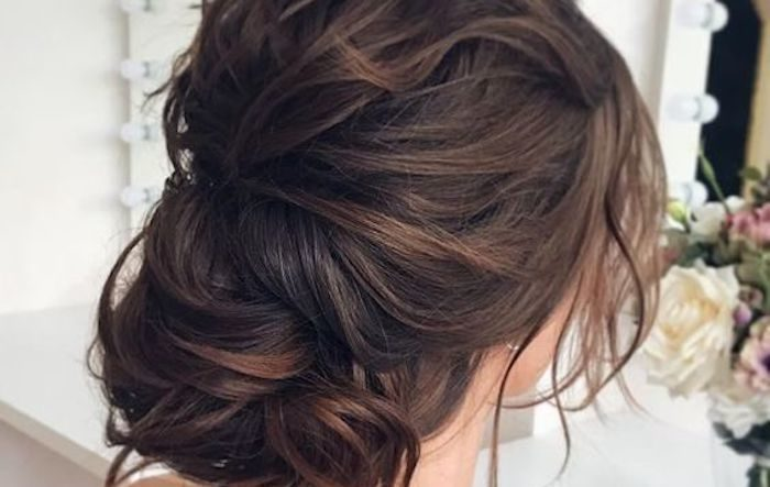 27 simple and stunning wedding hairstyles you'll love - TANIA .