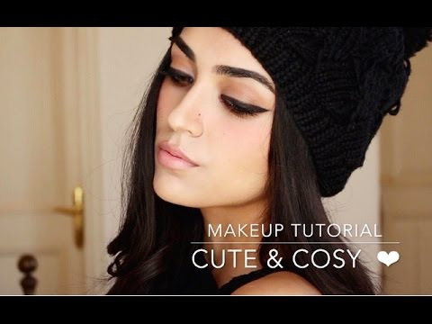 Winter Makeup Tutorial | Cute & Cosy ❤ - YouTu