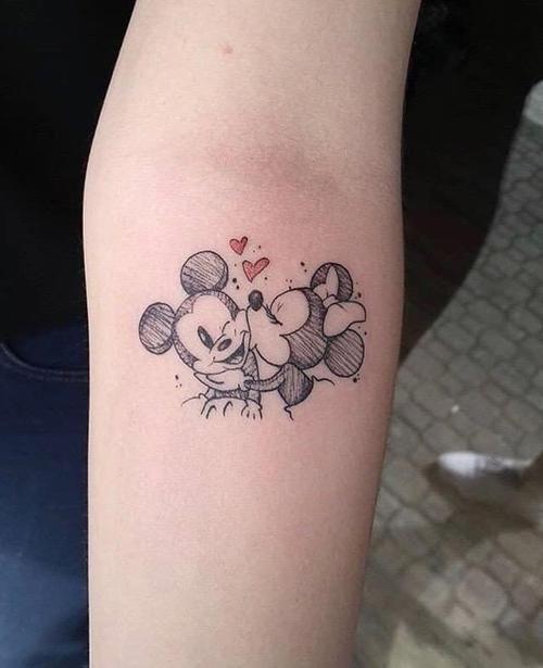 50+ Wonderful Walt Disney Tattoo Design Ideas & Inspiration in .