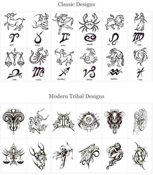 Tattoo Ideas   Tattoo Design   Astrology tattoo, Zodiac sign .