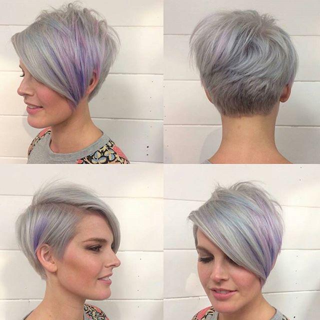 Asymmetric Hairstyles For  Women