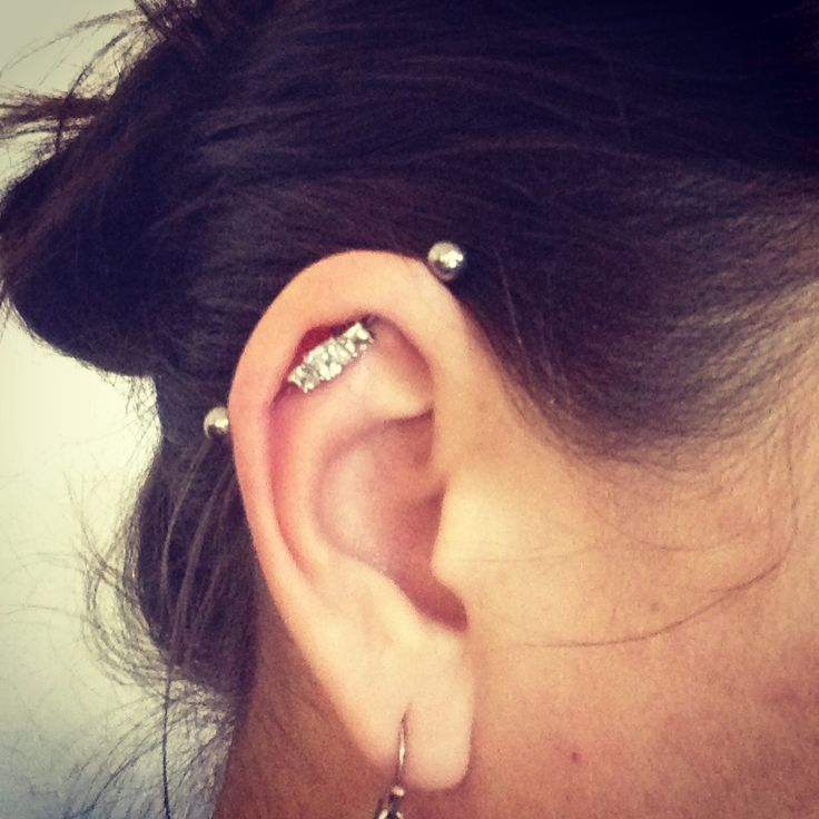 Bold and Beautiful Industrial Piercing