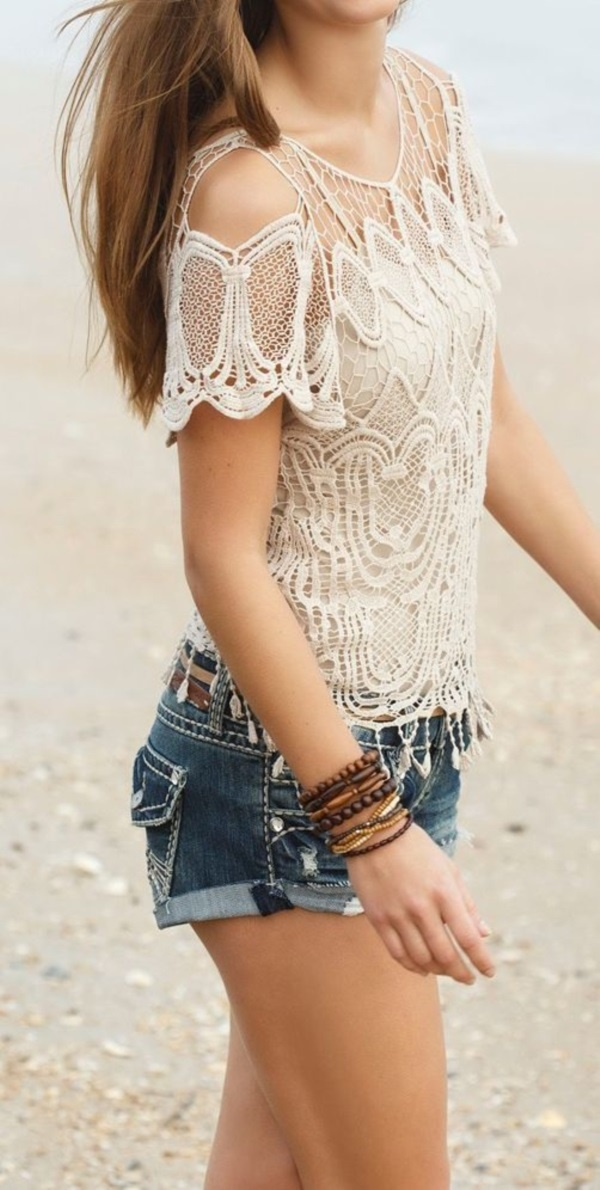 Chic Boho Spring Outfits