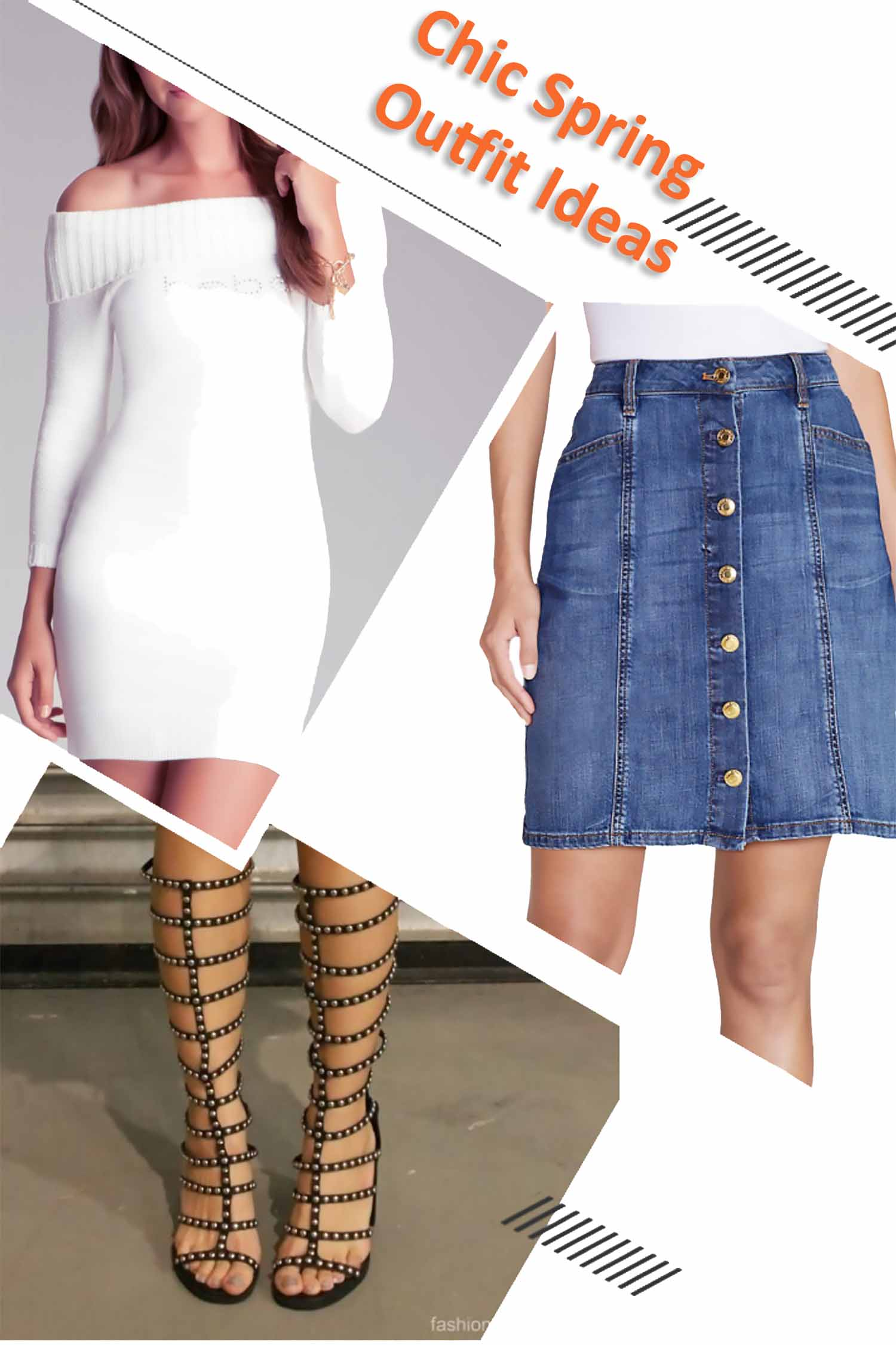 Chic Skirt Outfit Ideas