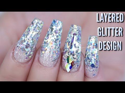 Designs for Glitter Nails